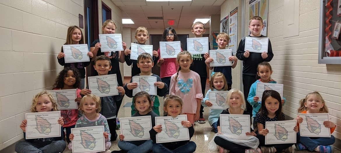 Oakwood Raiders of the month October 2019